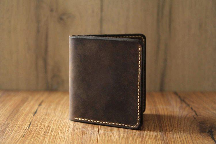 handgefertigtes portemonnaie
