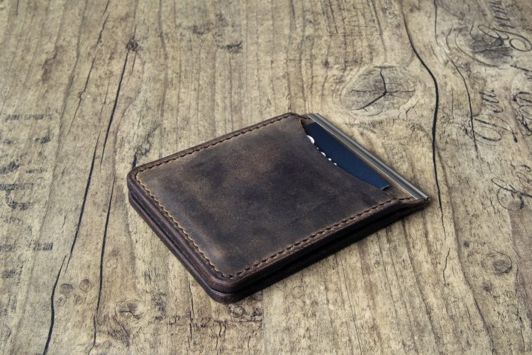 leder money clip