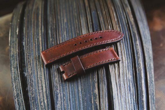leder uhrarmband handmade